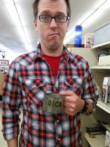 Mr. JD, aka the best husband in the world--despite what the cup says!