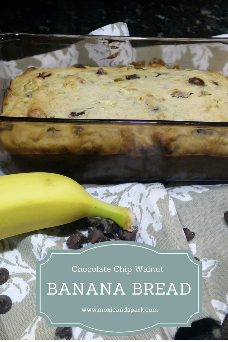 Chocolate Chip Walnut Banana Bread |